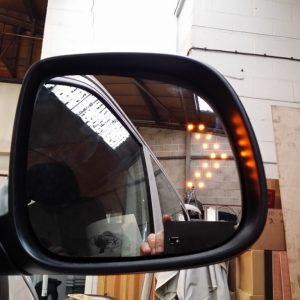 Heated LED Mirror Lens for VW T5.1 Transporter-3387