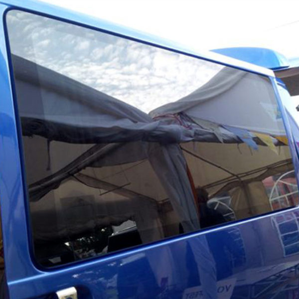 Fixed Side Window Smoked Glass for VW T4 Transporter-19640