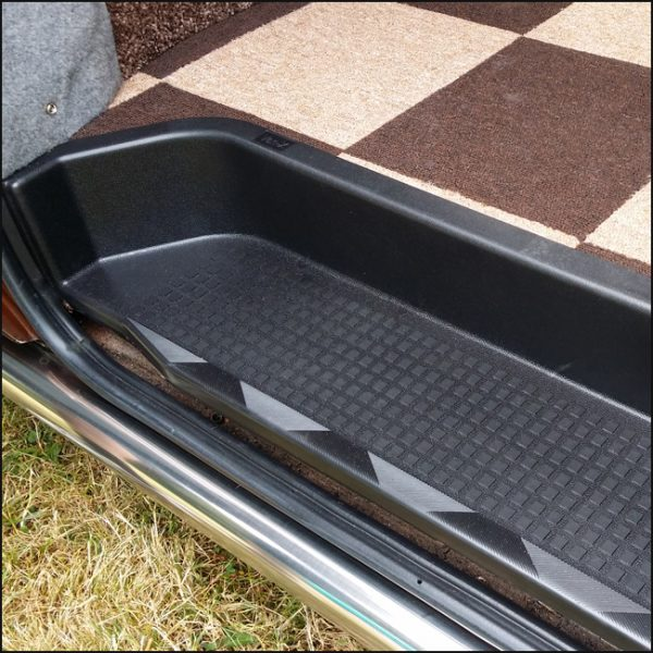 Passenger Side Loading Door Step for VW T4 Transporter EXTRA DEEP 17mm ABS-3774