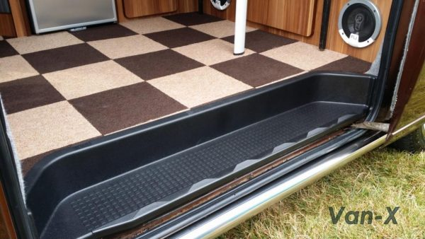 Passenger Side Loading Door Step for VW T4 Transporter EXTRA DEEP 17mm ABS-3646