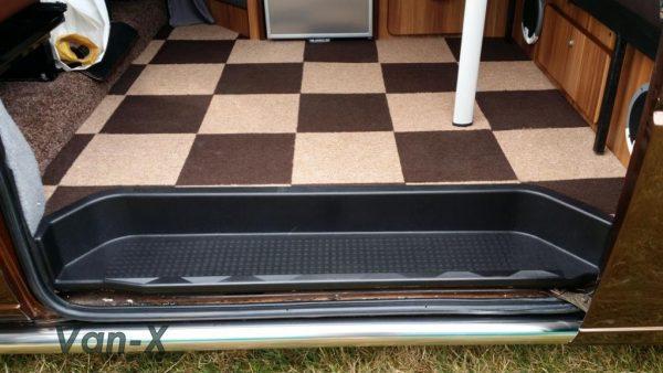Passenger Side Loading Door Step for VW T4 Transporter EXTRA DEEP 17mm ABS-3647