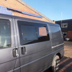 Side Window Sliding Glass for VW T4 Transporter Smoked-1542