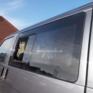 Side Window Sliding Glass for VW T4 Transporter Smoked-3190