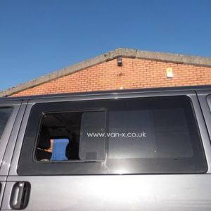 Side Window Sliding Glass for VW T4 Transporter Smoked-3189