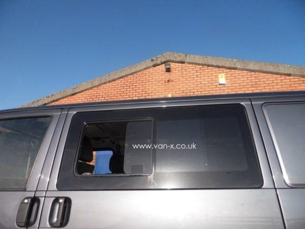 Side Window Sliding Glass for VW T4 Transporter Smoked-3189