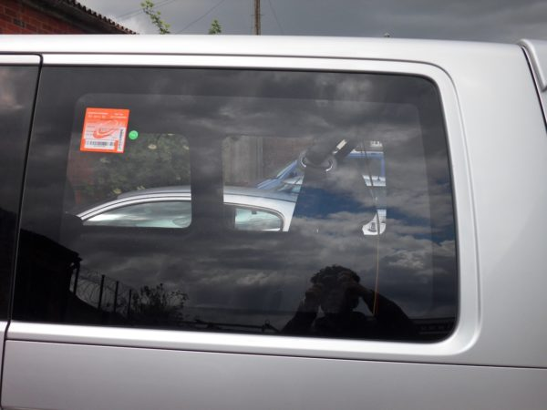 Rear Quarter Window Glass for VW T5 Transporter LWB-1326