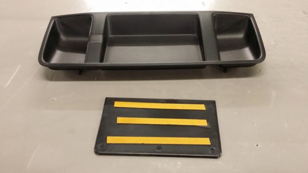 Top Dash Tray Plate for VW T5.1 Transporter-3802