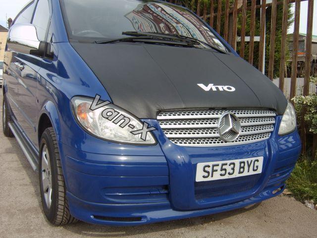 Bonnet Bra / Cover Vito Logo for Mercedes Vito-1556