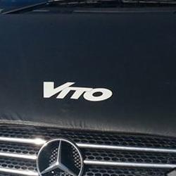Bonnet Bra / Cover Vito Logo for Mercedes Vito-19671