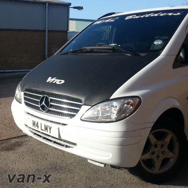 Bonnet Bra / Cover Vito Logo for Mercedes Vito-0
