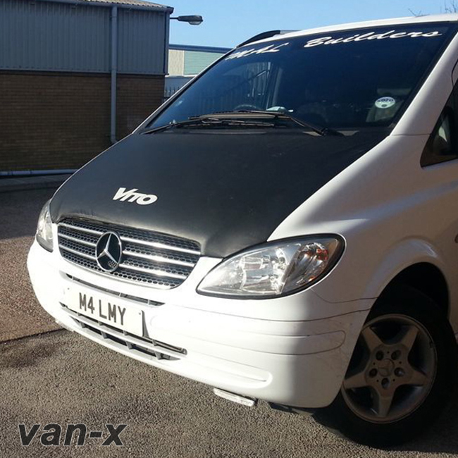 Bonnet Bra / Cover Vito Logo for Mercedes Vito-0