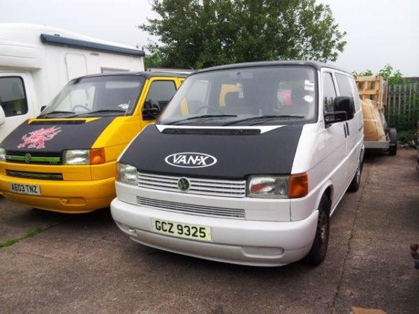 Bonnet Bra / Cover Van-X Logo for VW Transporter T4 S.NOSE-1778