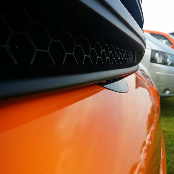 Front Badgeless Grille for VW Volkswagen T5.1 (MATTE)-8539