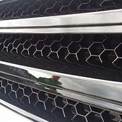 Front Badgeless Grille for VW Volkswagen T5.1 (PIANO BLACK)-19684