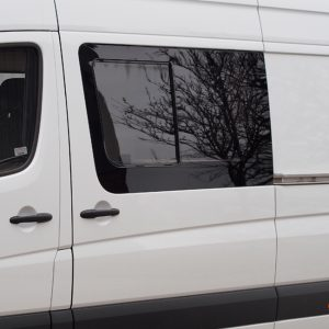 Side Window Sliding Glass for Mercedes Sprinter LWB - MWB-19739