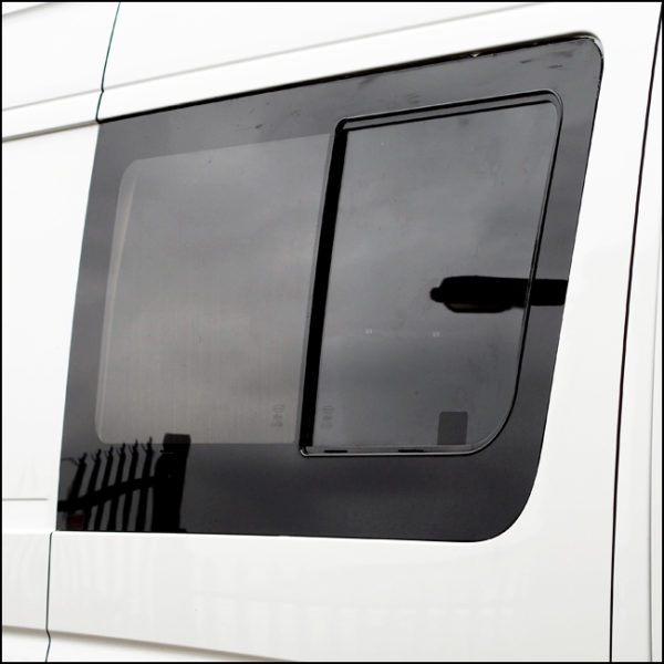 Side Window Sliding Glass for Mercedes Sprinter LWB - MWB-6368
