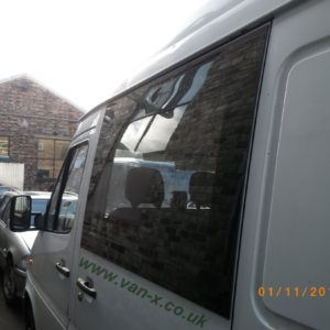 Smoked Side Window Fixed Glass for Mercedes Sprinter MK3 LWB - MWB-2179