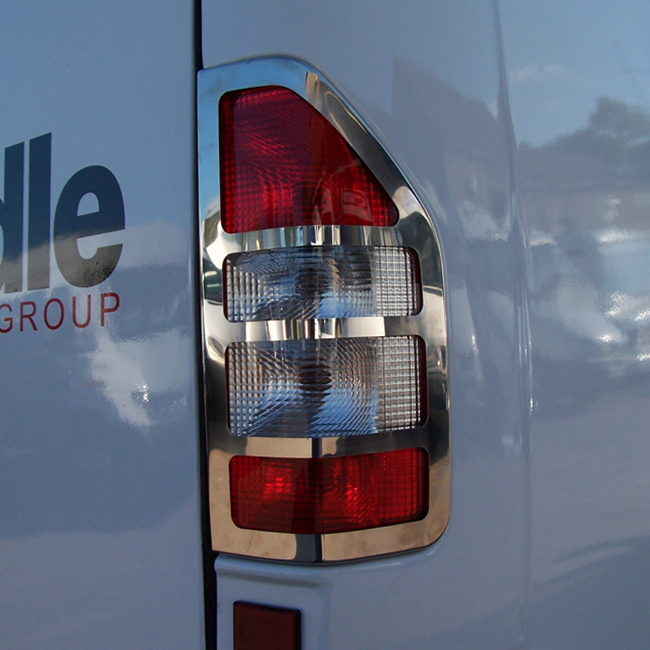 Rear Light Guard for Mercedes Sprinter MK2 Stainless Steel -0