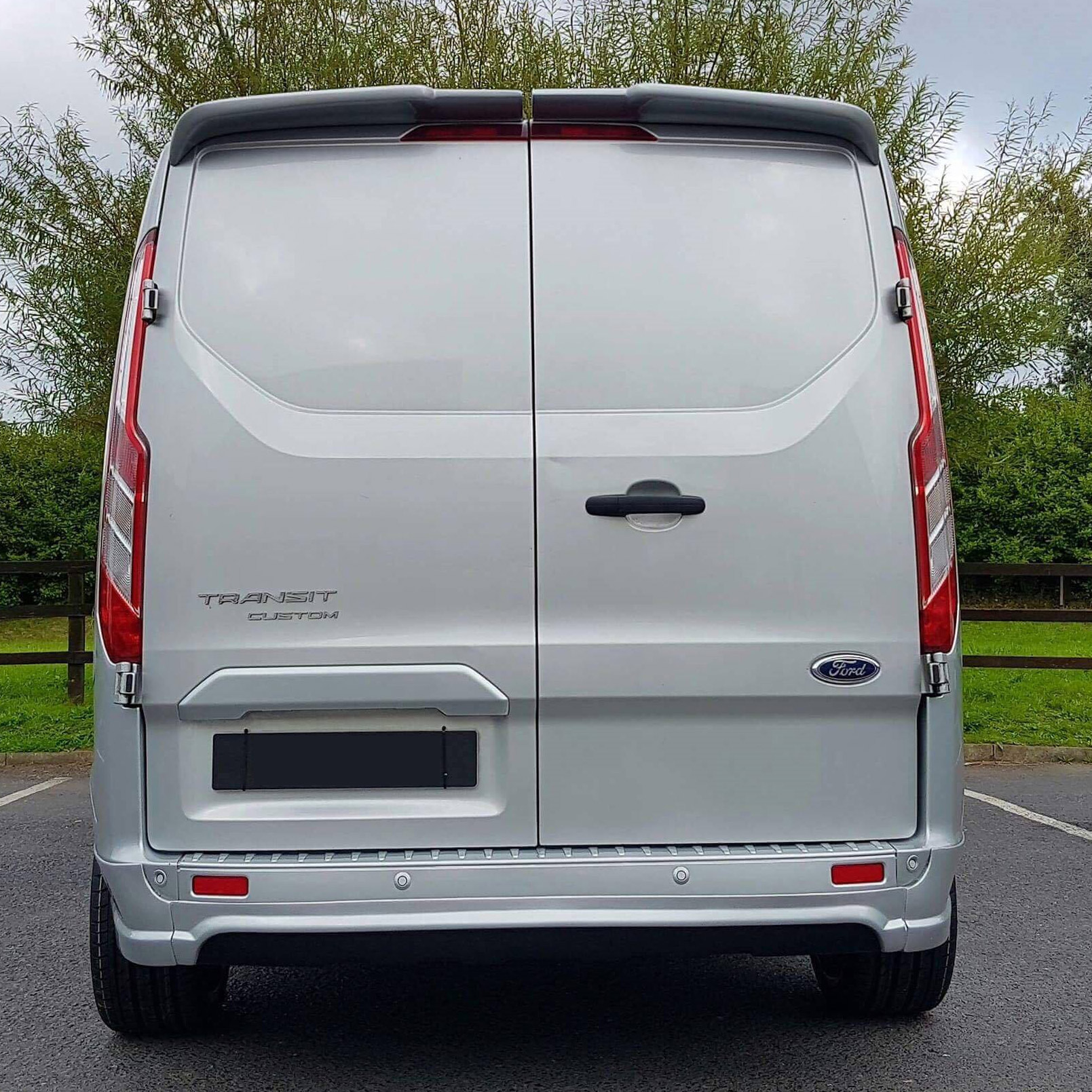 Swiss Vans Large Uk Ford: Transit Custom Barndoor Spoiler