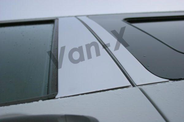 Door Pillar Trims for VW T5 Transporter Stainless Steel -2715