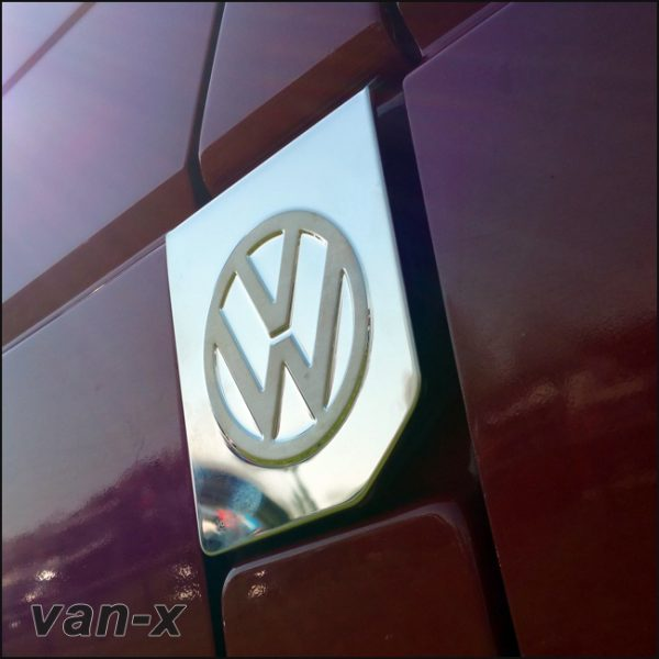 Fuel Cap Flap Cover for VW T4 Transporter Stainless Steel -3611