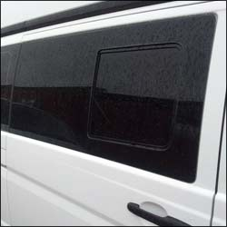 Smoked Side Window Sliding Glass for Mercedes Vito-6178