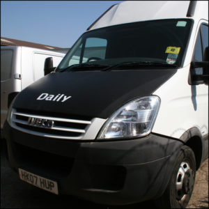 Bonnet Bra / Cover Daily Logo for IVECO Daily-3695