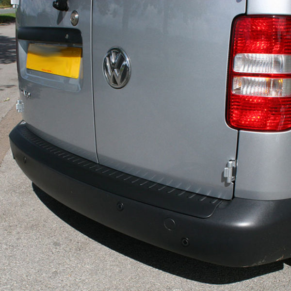 Black Rear Bumper Protector for VW Caddy-19873