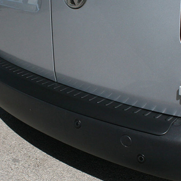 Black Rear Bumper Protector for VW Caddy-19874