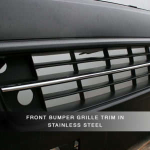 ABS Front Bumper for VW T5.1 Transporter-8736