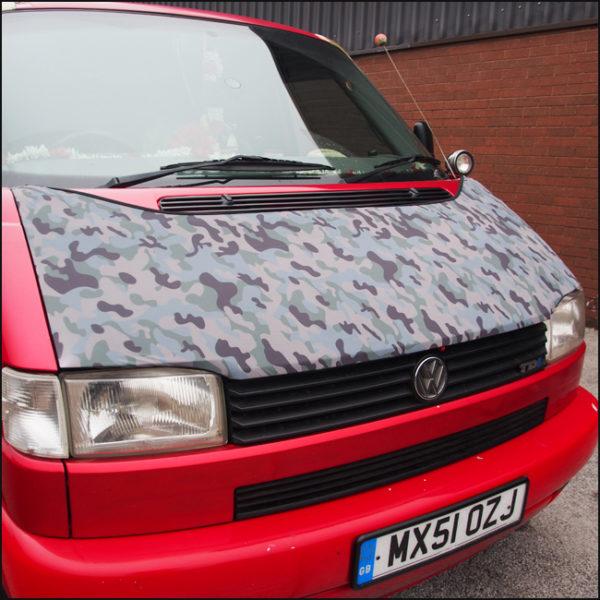 Bonnet Bra / Cover Camo HD Print for VW Volkswagen T4 Transporter-4576