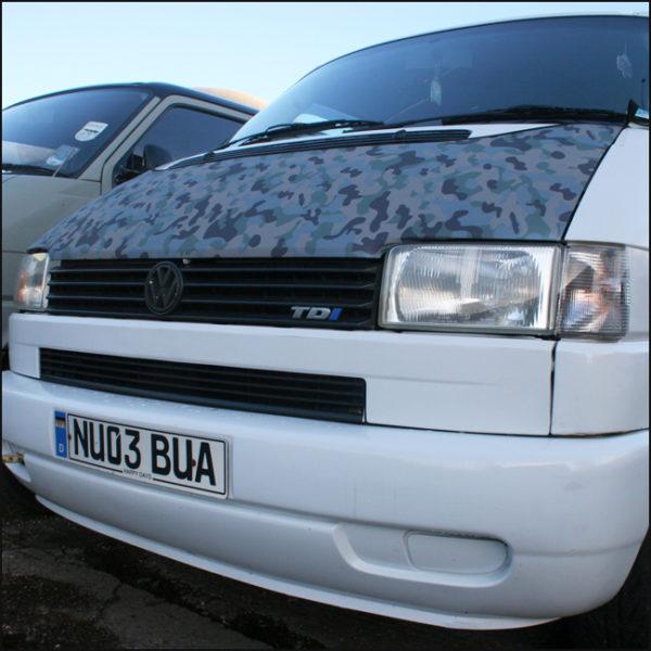 Bonnet Bra / Cover Camo HD Print for VW Volkswagen T4 Transporter-4578