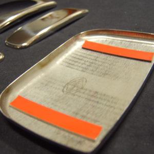 Door Handle Covers (5 Pcs) for Citroen Berlingo / Peugeot Partner Stainless Steel -5133