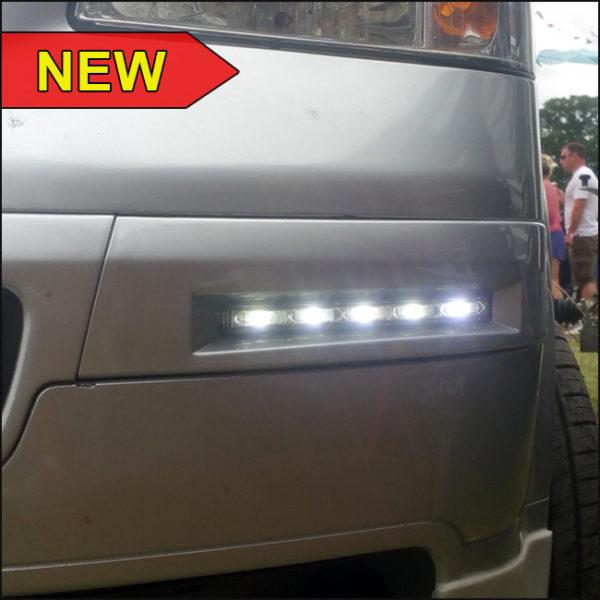 DRL Daylight Panels for VW T5 Transporter ( Set of 2 )-4947
