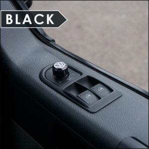 Mirror Switch / Cap (Aluminium) for VW T5, T6, Caravelle, California-6022