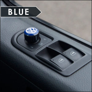 Mirror Switch / Cap (Aluminium) for VW T5, T6, Caravelle, California-6019