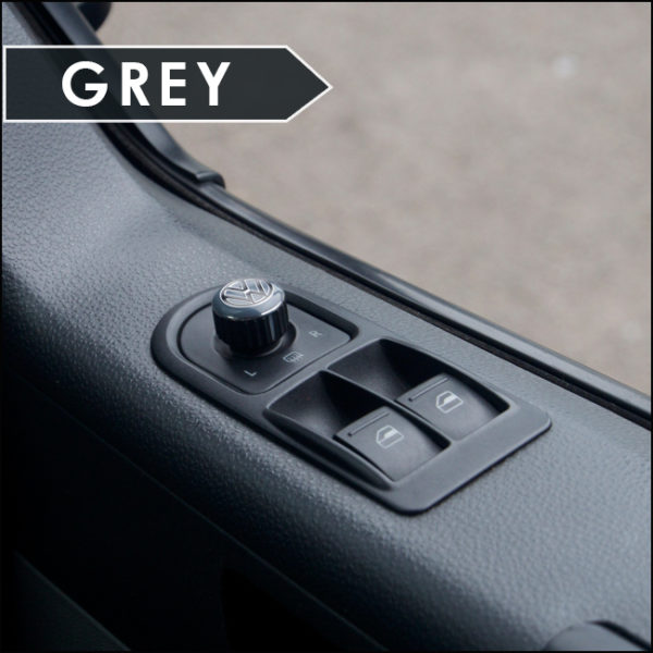 Mirror Switch / Cap (Aluminium) for VW T5, T6, Caravelle, California-6020