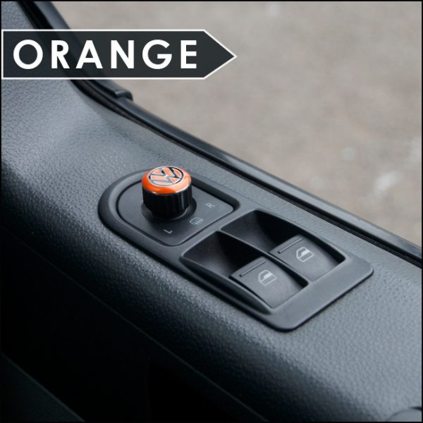 Mirror Switch / Cap (Aluminium) for VW T5, T6, Caravelle, California-6021