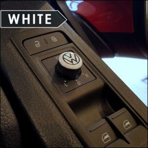 Mirror Switch / Cap (Aluminium) for VW T5, T6, Caravelle, California-6018
