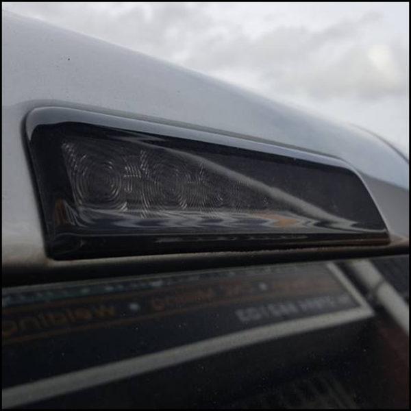 Barndoor 3rd Brake Light Smoked Lens for VW Caddy-6095