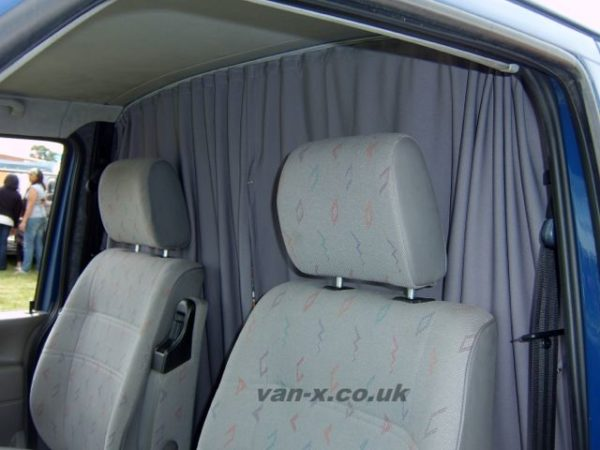 Cab Divider Curtain Kit for Peugeot Boxer-6358