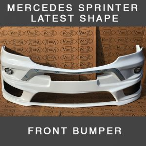 Front Bumper Spoiler For Mercedes Sprinter NEW SHAPE-0
