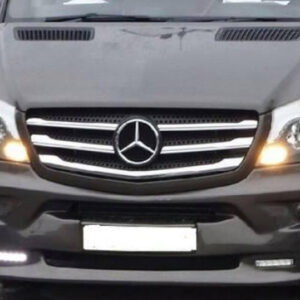 Front Grille Trims Stainless Steel (5 Pcs) for Mercedes Sprinter-0