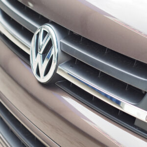 SINGLE-LINE Front Grille Trim (2 PCS) for VW T5.1 Transporter-0