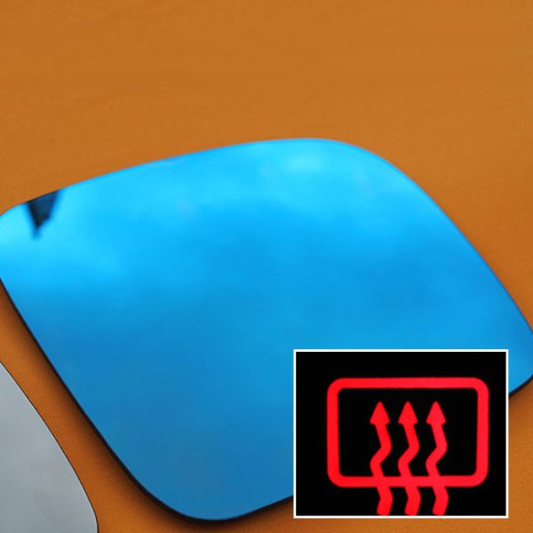 Heated Anti-Glare LED Mirror Lens for VW T5.1 Transporter (set of 2)-0