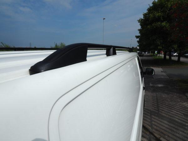 Roof Rails / Bars for VW T5 Transporter SWB BLACK-7294
