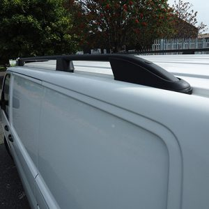 Roof Rails / Bars for VW T5 Transporter SWB BLACK-0