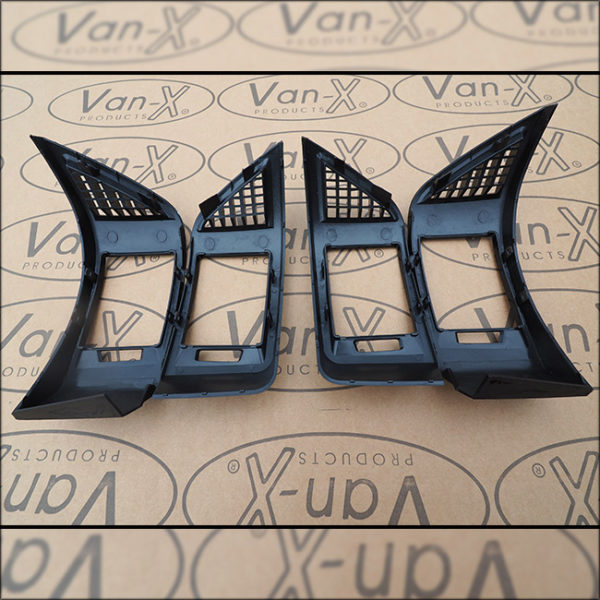 Dashboard Air Vent (BLACK) for Fiat Ducato, Peugeot Boxer & Citroen Relay-7109
