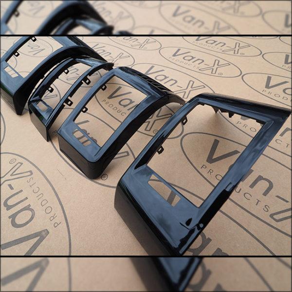 Dashboard Air Vent (BLACK) for Fiat Ducato, Peugeot Boxer & Citroen Relay-7110