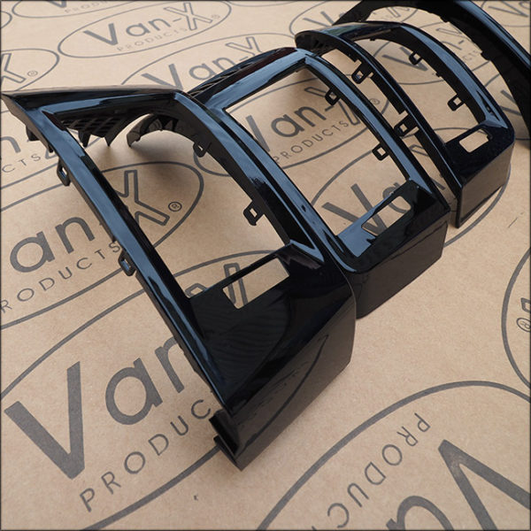 Dashboard Air Vent (BLACK) for Fiat Ducato, Peugeot Boxer & Citroen Relay-7107